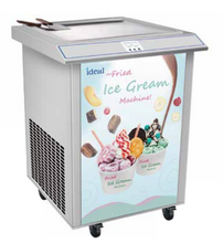 Load image into Gallery viewer, IC600 Roll Thai Fried Ice Cream Machine Single Square/Round Pan ON SALE!
