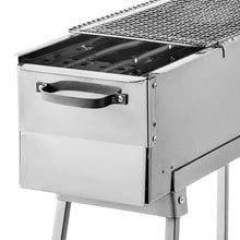 Load image into Gallery viewer, Food Equipment Party Grille 32 Stainless Steel Charcoal Grill BBQ Grill Camp Grill Portable