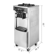 Load image into Gallery viewer, ICM-2200 D Ice Cream Machine 20/28 L Hr 6 Gal X 2 Tanks