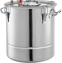 Load image into Gallery viewer, Beverage Equipment 30 L Alcohol/Essential Oil Distiller Brewing Kit Home Still Stainless Steel Boiler