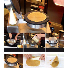 Load image into Gallery viewer, Ice Cream Cone Double Waffle Cone Maker Non-Stick - Your Everything Supplier