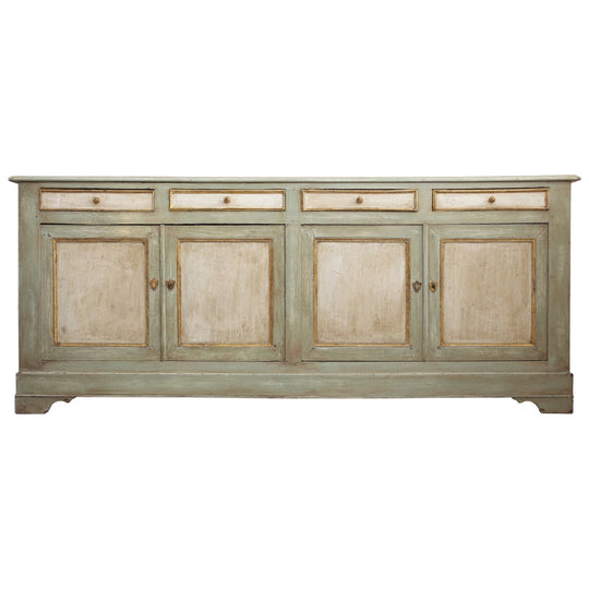 French Antique Solid Oak Buffet