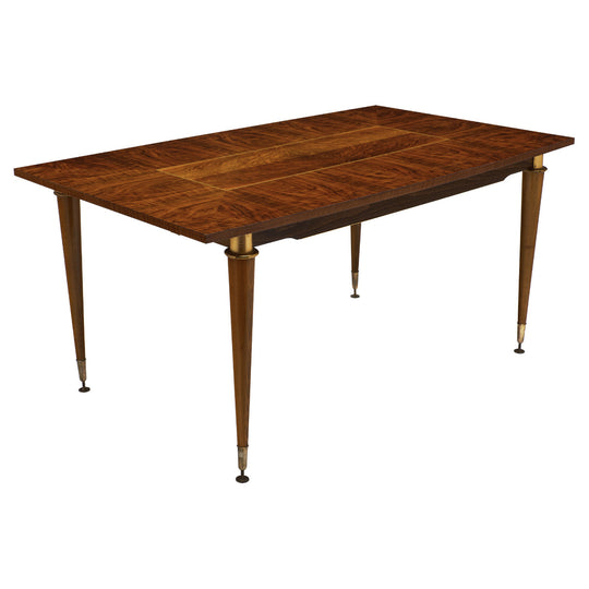 French Modernist Rosewood Dining Table