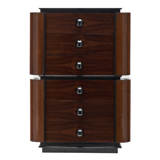 Art Deco Period Rosewood Chiffonier