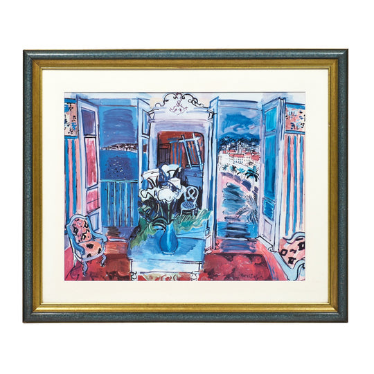 """Interior with Open Windows"" Print by Raoul Dufy"