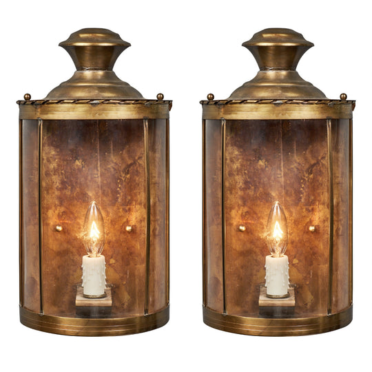 Brass Art Deco Period Sconces