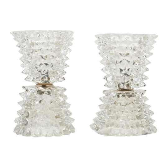 Vintage Murano Glass Lamps by Barovier