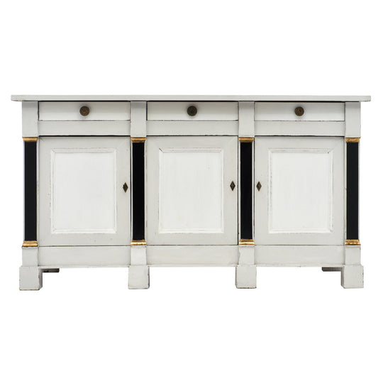 French Painted Directoire Style Buffet