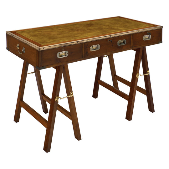 Campaign Style Vintage Writing Desk
