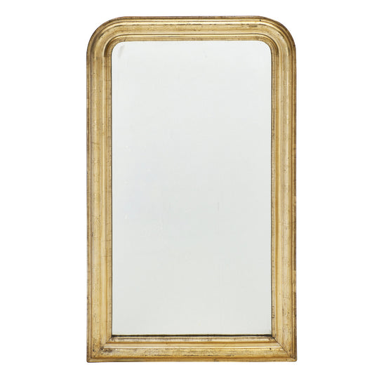 Gold Leafed Louis Philippe Period Mirror