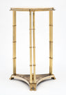 Brass and Marble Maison Raphael Side Tables