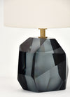 Murano Glass Blue Rock Lamps