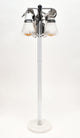 Murano Glass Modern Floor Lamp by Mazzega
