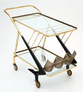 Cesare Lacca Italian Modernist Bar Cart
