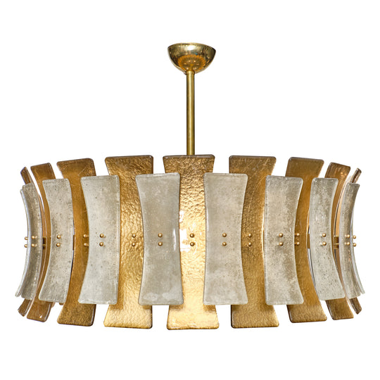 "Murano Glass ""Clessidre"" Chandelier"