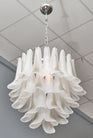 "Murano Glass ""Selle"" Chandelier"