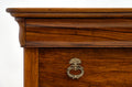French Antique Figured Walnut Chest