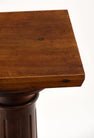 French Antique Walnut Pedestal