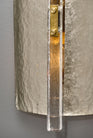 Silver Leaf Murano Glass Sconces