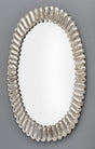 Murano Glass Silver Leaf Mirrors by Fuga