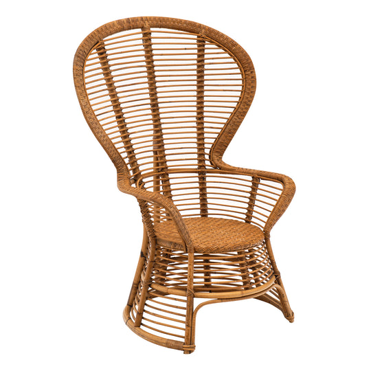 Vintage French Wicker Armchair