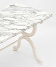 French Antique Marble Garden Table