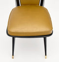 French Mid-Century Set of Dining Chairs