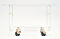 French Lucite Side Table by David Lange