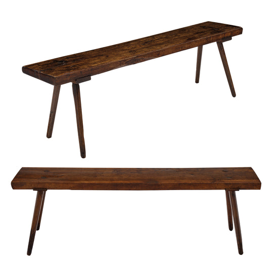Italian Oak Farm Benches