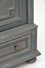 Louis XIV Style Gray Painted Bonnetiere