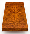 Burl Ash Mid-Century Coffee Table