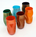 "Murano Glass ""Cartoccio"" Vases"
