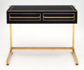 Pair of Murano Glass Covered Console Tables