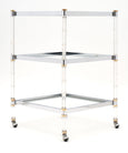 Three Tiered Modernist French Bar Cart