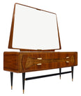 Italian Mid-Century Chest with Mirror