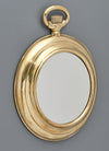 Brass Vintage Pocket Watch Mirror