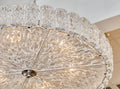 "Murano Glass ""Piastre"" Chandelier"