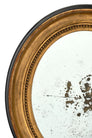 Louis XVI Period French Oval Mirror