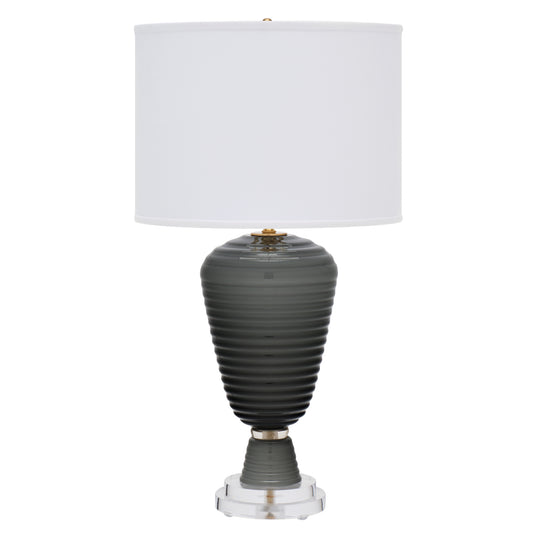 Single Gray Murano Glass Lamp