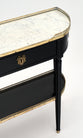 French Antique Demilune Console