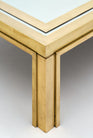 Romeo Rega Brass and Mirror Coffee Table