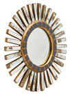 Pair of Spanish Sunburst Mirrors