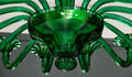 Emerald Green Murano Glass Chandelier