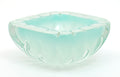 Art Deco Period Light Blue Murano Glass Bowl