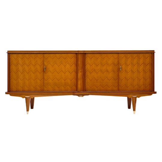 French Rosewood Buffet in the Manner of Paul Follot