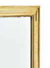 Antique Napoleon III Brass Mirror