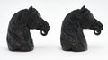 "Antique Horseheads from French ""Haras"""