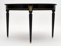 Louis XVI Style Antique Dining Table with Leaves