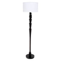 French Art Deco Ebonized Floor Lamp