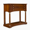 French Antique Empire Console Table